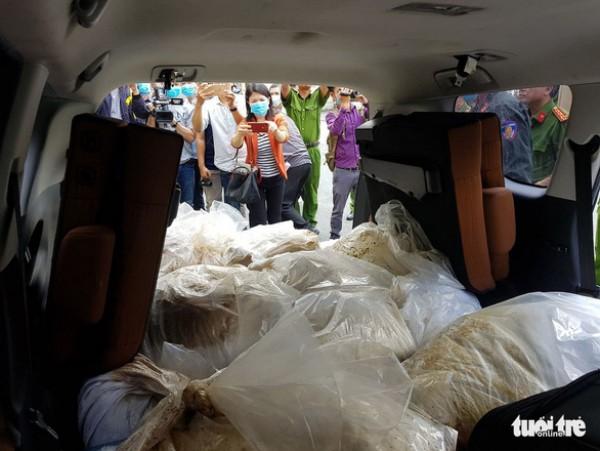ยาเสพติดเต็มนครโฮจิมินห์ ตำรวจยึดยาเคได้อีกกว่า 500 กิโลกรัม
