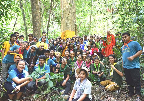 """กลุ่มเด็กและเยาวชนจิตอาสา จ.ตรัง รวมพลังปกป้อง """"เทือกเขาถ้ำแรด"""""""