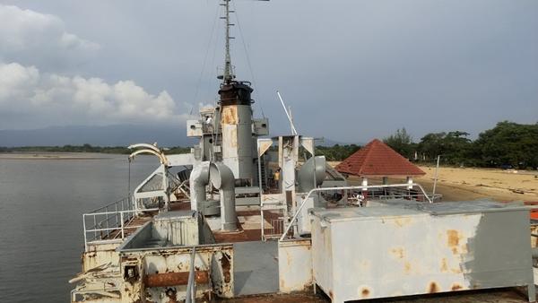 กองทัพเรือ  หาแนวทางซ่อมแซมเรือรบหลวงโพธิ์สามต้น หลังทรุดโทรมหนัก
