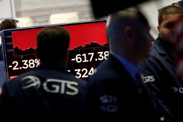 น้ำมันลง ทองพุ่ง$14,ดาวโจนส์ร่วง600จุด จีน'เอาคืน'ขึ้นภาษีสินค้าอเมริกัน