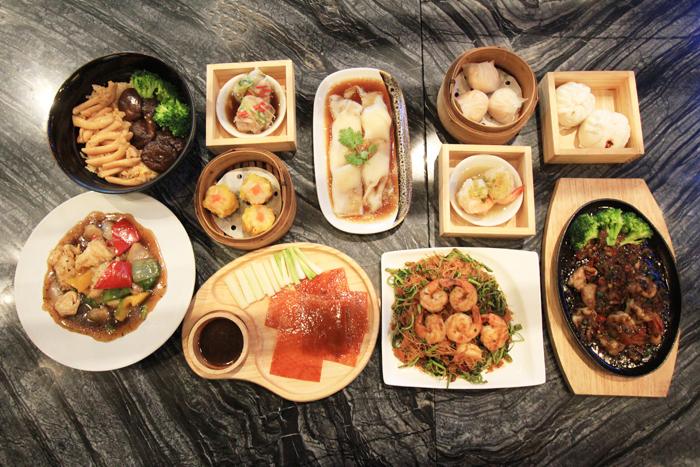 หลากหลายอาหารจีนชวนกิน