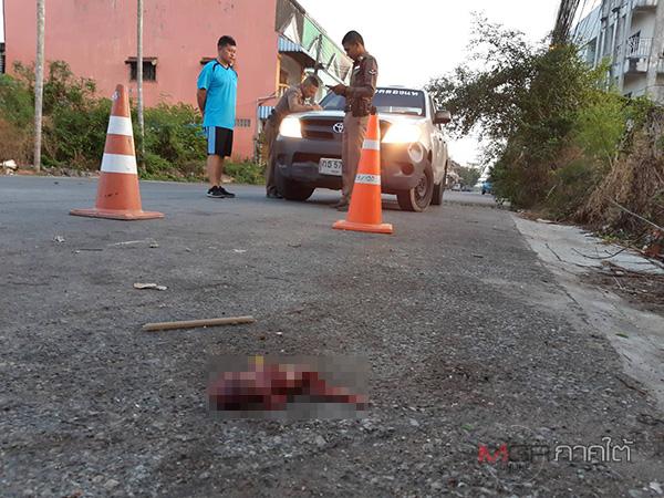 ผงะพบศพทารกเพศชายถูกทำแท้ง ห่อด้วยผ้าอนามัยทิ้งไว้ริมถนนเมืองหาดใหญ่
