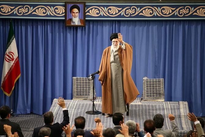 อยาตอลเลาะห์ อาลี คาเมเนอี ผู้นำสูงสุดของอิหร่าน