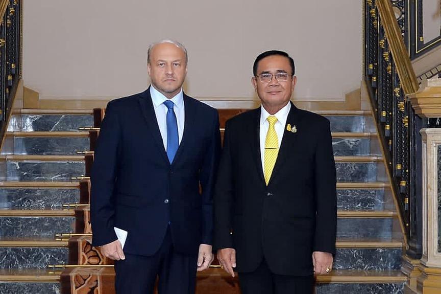 นายกฯ พบ ทูตรัสเซีย พร้อมกระชับความร่วมมือทุกมิติ ยินดียกระดับสัมพันธ์อาเซียน
