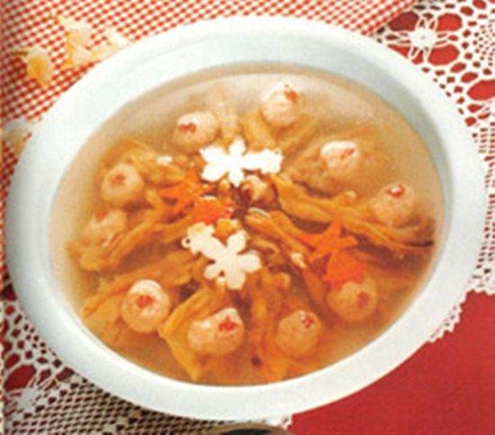 ขาเป็ดยัดไส้ลูกชิ้นกุ้ง ขอบคุณภาพจาก http://www.chaozhou.ccoo.cn/bendi/info-57726.html
