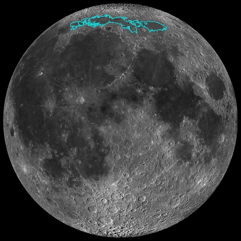 ยานนาซาพบดวงจันทร์หดเล็กลง