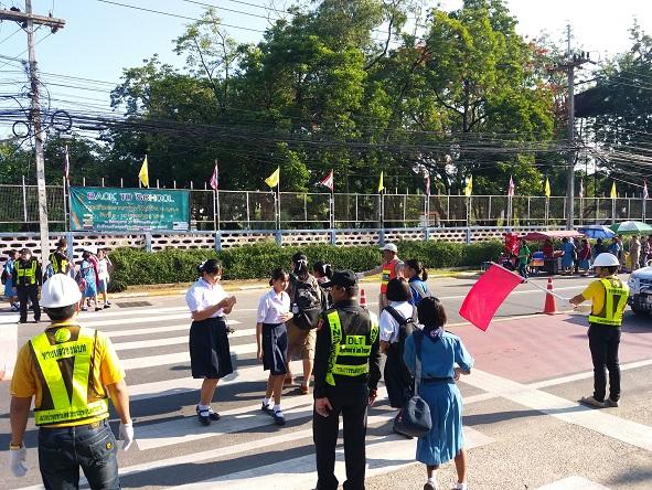 ถนนหน้าโรงเรียนต้องปลอดภัย ทช.จัดเจ้าหน้าที่ ดูแลเข้มข้นทั่วประเทศ