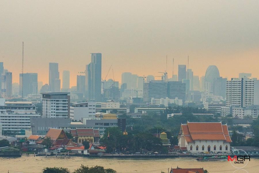 ภาพช่วงเกิดวิกฤตฝุ่นละออง PM 2.5. (แฟ้มภาพ)