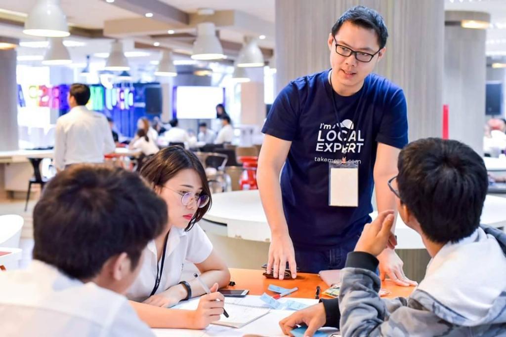 """ทีม Law mate มธบ.  ติด1 ใน30 ทีม งาน""""Techsauce Global Summit 2019"""""""