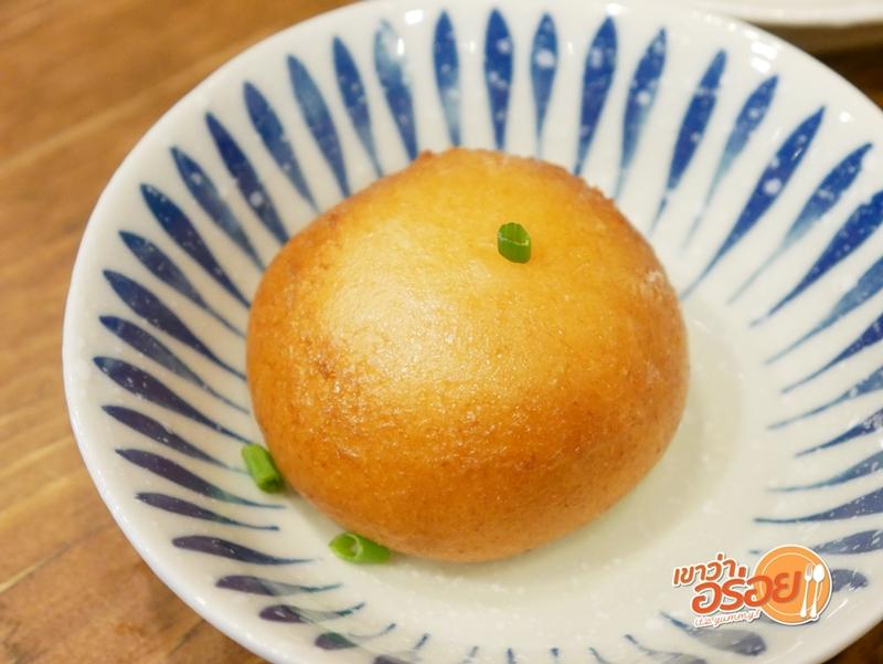 ซาลาเปาทอดลาวาไข่เค็ม