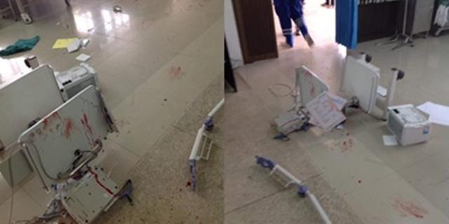 เหตุทะเลาะวิวาทในโรงพยาบาล ทำเครื่องมือแพทย์เสียหาย ชาวเน็ตประณามไม่น่าเกิด
