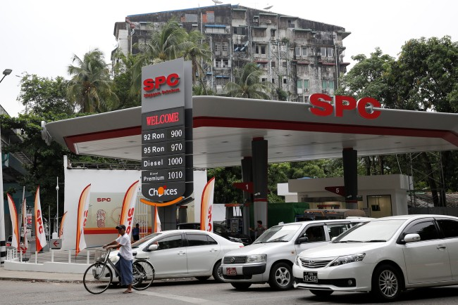 บ.น้ำมันยักษ์ใหญ่จีนสวมแบรนด์สิงคโปร์ลุยตลาดพลังงานพม่าตั้งเป้าเปิดปั๊มเพิ่มหลายสิบแห่ง