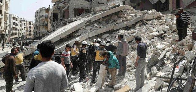 รัสเซียทิ้งบอมบ์พื้นที่นักรบญิฮาดในซีเรีย คร่าพลเรือน 10 ชีวิต