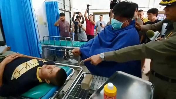 แจ้ง 4 ข้อหาหนัก มือมีดฟันอริในโรงพยาบาลเหล่าเสือโก้ก