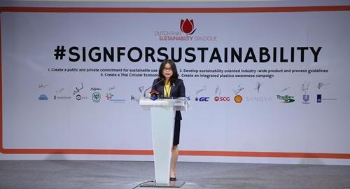 """ตลาดหลักทรัพย์ฯ ร่วมเวที """"Dutch-Thai Sustainability Conference"""""""