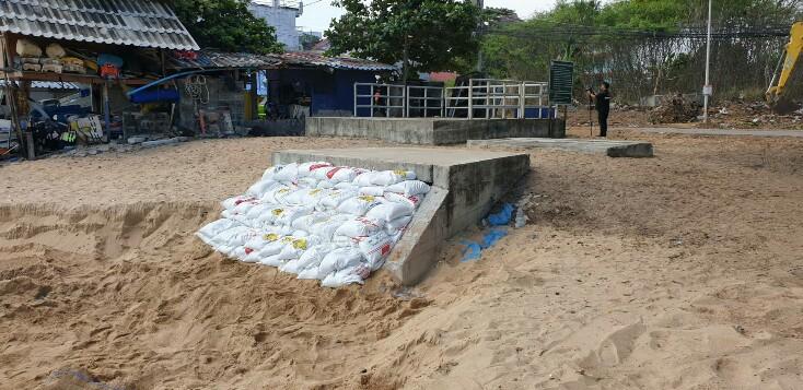 ยุติดรามาน้ำเสียทะลักหาดจอมเทียน นายก ทต.นาจอมเทียน ยืดอกรับผิดพร้อมเร่งแก้ไข
