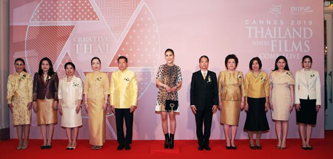 ค่ำคืนแห่งพรสวรรค์และความคิดสร้างสรรค์อันโดดเด่นจากวงการภาพยนตร์ไทย งาน Thai Night หวนคืนสู่เทศกาลภาพยนตร์เมืองคานส์ 2019โดย กรมส่งเสริมการค้าระหว่างประเทศ กระทรวงพาณิชย์