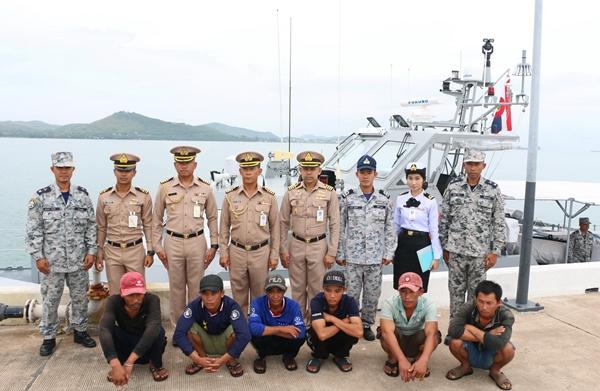 ไม่หมด..เรือประมงเวียดนามลอบทำประมงในน่านน้ำไทย ล่าสุด ทร.ภาค 1 จับได้อีก 3 ลำ