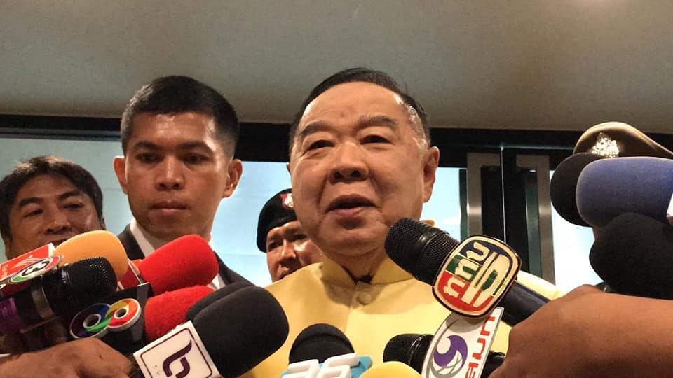 """""""บิ๊กป้อม""""การันตีถกผู้นำอาเซียนในไทย ไม่มีอะไรน่าห่วง"""