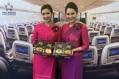 ครัวการบินไทย ให้บริการอาหารไทยในงานเทศกาลไทย ณ กรุงโตเกียว