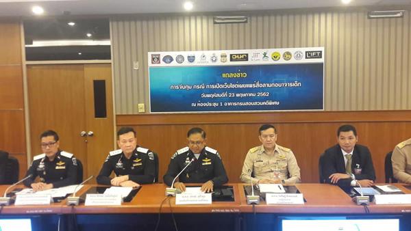 ทลายเว็บไซต์อนาจารเด็ก จับกุมผู้ต้องหา 4 ราย ในไทย-ออสเตรเลีย มีตร.ยศนายดาบหัวหน้าแก๊ง