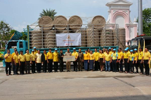 จ.อุดรฯร่วมSCG ปล่อยคาราวานมอบถังเก็บน้ำทั้ง20อำเภอ
