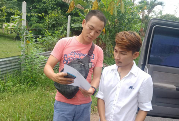 เกย์หนุ่มจนมุม หลังอ้างตัวเป็นตำรวจ ฉกรถกระบะเจ้าของร้านบิงซูหนี