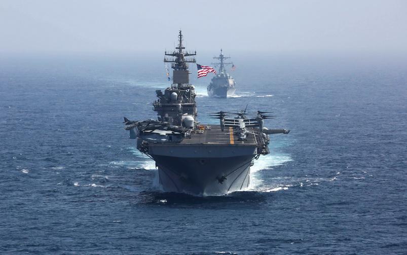 สุดอึ้ง! นายพลอิหร่านโวมี 'อาวุธลับ' สามารถจมเรือรบสหรัฐฯ ได้