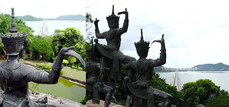 """รำลึกป๋าเปรม ผ่าน """"สะพานติณสูลานนท์"""" สะพานคู่ยาวที่สุดในไทย ความภูมิใจของชาวสงขลา"""