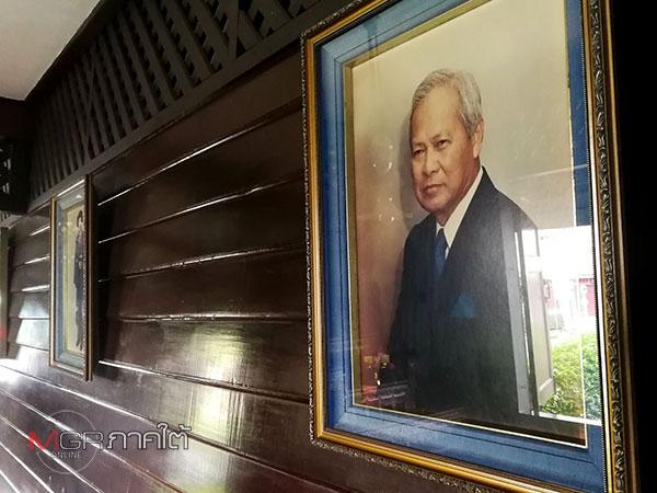 รูปภาพของพลเอกเปรมภายในพิพิธภัณฑ์