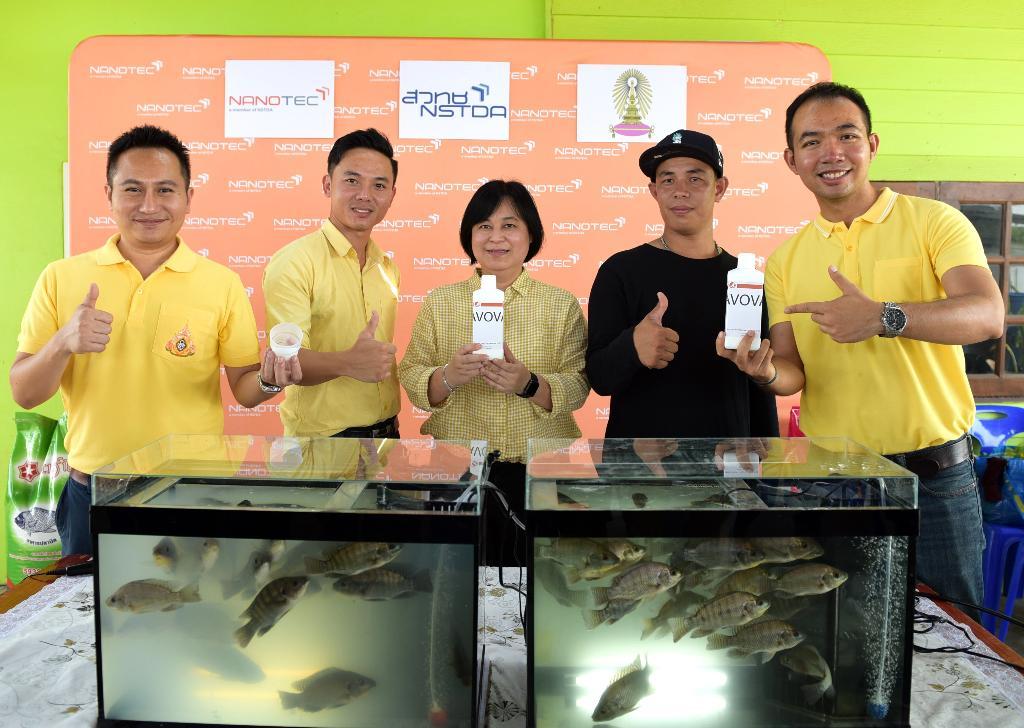 นาโนเทค จับมือ จุฬาฯ พัฒนานาโนวัคซีนแบบแช่ แก้โรคระบาดในอุตฯเพาะเลี้ยงปลา