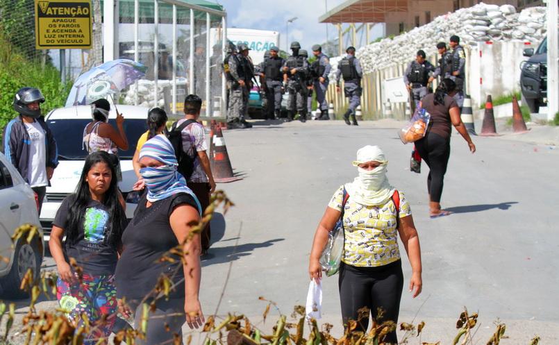 จลาจล 'เรือนจำบราซิล' 4 แห่ง-นักโทษถูกรัดคอตาย 40 ศพ