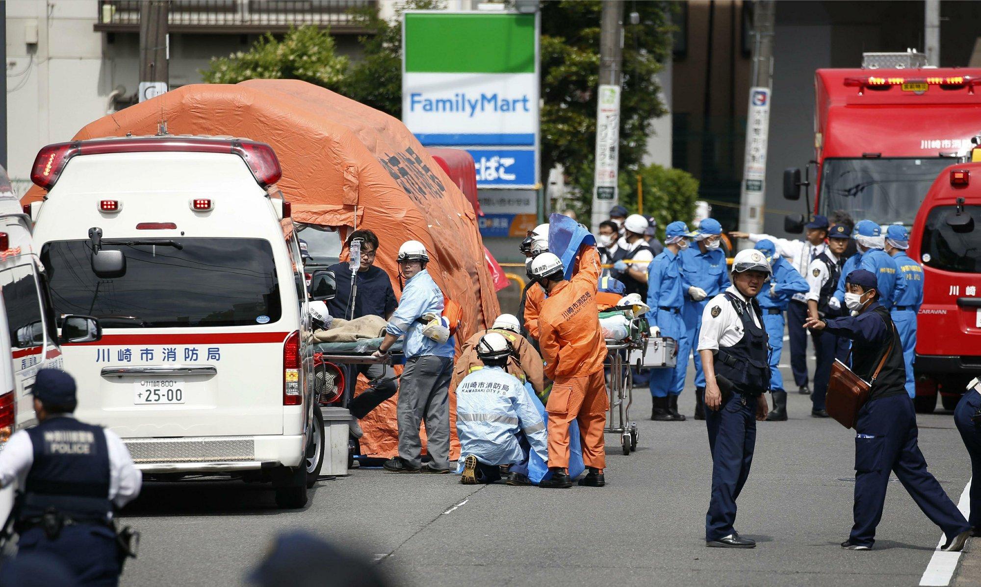 สะเทือนขวัญ! มือมีดไล่แทงนักเรียนญี่ปุ่น ตาย 3 เจ็บ 16 คนร้ายแทงคอตัวเองสิ้นชีพ
