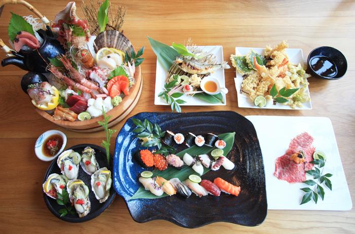 สารพัดอาหารญี่ปุ่นชวนลิ้มลอง