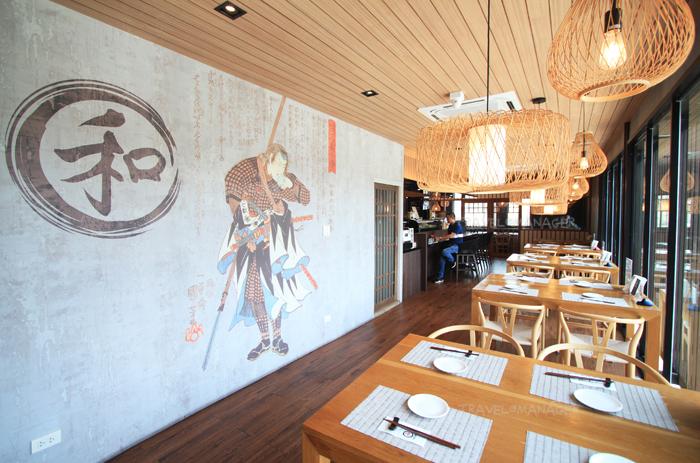 """บรรยากาศภายในร้าน """"Nagomi Japanese Restaurant"""""""