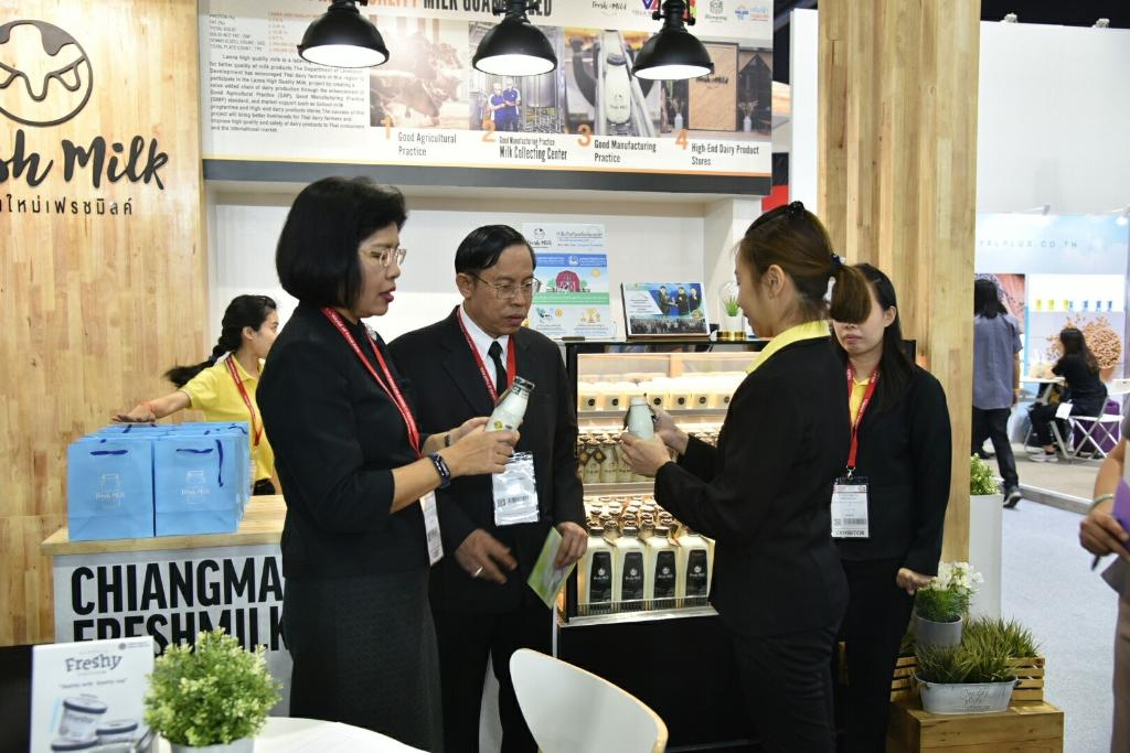 กรมเจรจาฯ นำผู้ประกอบการโคนม-โคเนื้อ และชาไทย เข้าร่วมงาน THAIFEX 2019