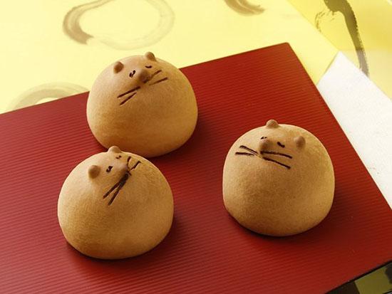 ขนมมันจูอ้วนกลมสุดน่ารักจากโตเกียว Ponpoko Oyaji