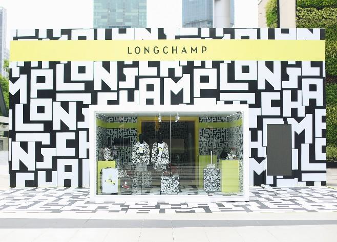 Longchamp LGP Pop-up Storeนิทรรศการสุดล้ำ ส่องแฟชั่นสไตล์โมโนแกรมที่ไม่ธรรมดา