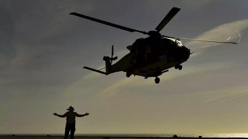 นักบินเฮลิคอปเตอร์ออสซี่ถูกโจมตีด้วย 'แสงเลเซอร์' เหนือทะเลจีนใต้