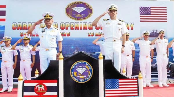 ทร.ไทย-สหรัฐ ฝึกร่วม CARAT สานสัมพันธ์ 25 ปี