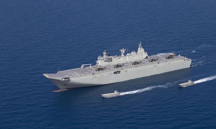 ออสเตรเลียยืนยันนักบินฮ.ถูกเล็งยิง  โดยอาวุธเลเซอร์บริเวณทะเลจีนใต้
