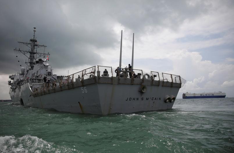 แค้นฝังหุ่น!! ทำเนียบขาวสั่งย้ายเรือพิฆาต 'จอห์น แมคเคน' ให้พ้นหูพ้นตา ระหว่าง 'ทรัมป์' เยือนญี่ปุ่น