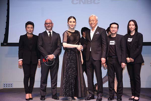 """มิติใหม่วงการข่าว """"JKN"""" ทุ่ม 200 ล้าน จับมือ GMM 25 ผลิตรายการข่าว CNBC เวอร์ชั่นไทย มั่นใจยิ่งดูยิ่งรวย"""