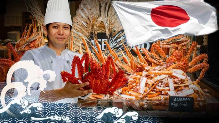 """อร่อยฟิน """"บุฟเฟต์ปู"""" และอาหารจานพิเศษจากเชฟมาซากิ ทามากิ ที่ร้านอาหารอเทลิเย่"""