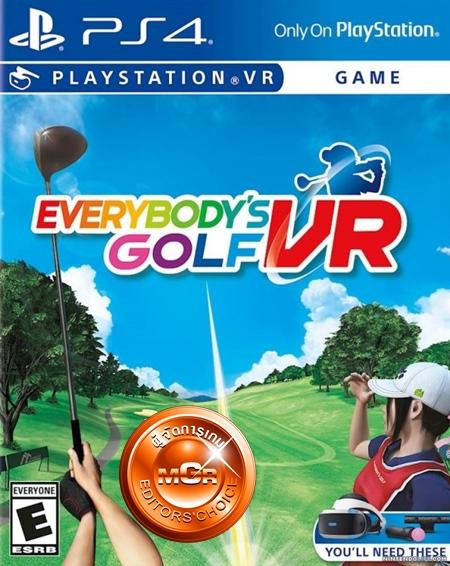 Review: Everybody's Golf VR กีฬาฟ้าใส หัวใจสีชมพู