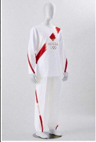ชุดสำหรับอาสาสมัครวิ่งคบเพลิงโตเกียว โอลิมปิก