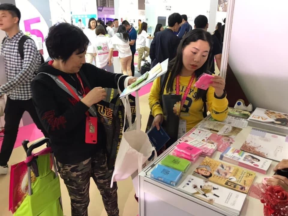 ชาวจีนชอบสินค้าเกษตรนวัตกรรมไทย หลังนำไปโชว์ในงาน China Beauty Expo 2019