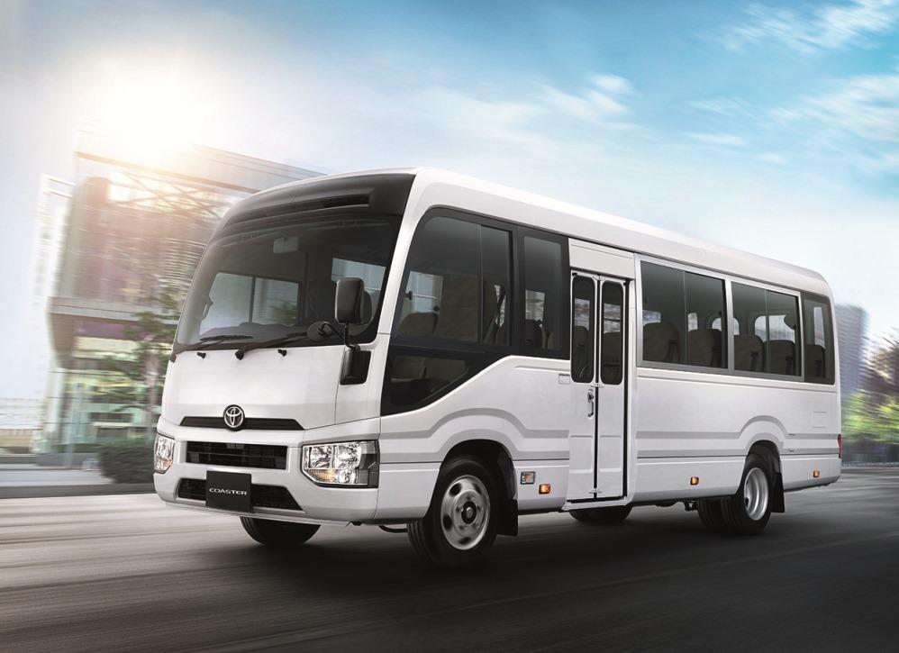 โตโยต้า เปิดตัวรถโดยสาร โคสเตอร์ ราคา1,960,000 บาท