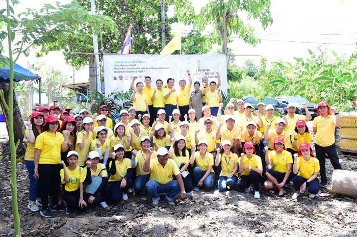 """""""ซีพี-ทรู""""รวมพลังจิตอาสาปลูกป่าเฉลิมพระเกียรติพระเจ้าอยู่หัว คิกออฟโครงการ OUR Khung Bang Kachao"""