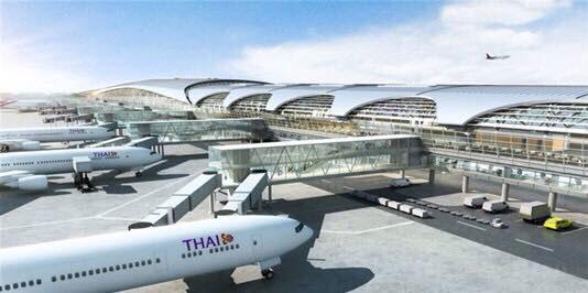 """""""ฮิตาชิ"""" รับอานิสงค์ขยายสนามบินสุวรรณภูมิได้คำสั่งซื้อ ลิฟต์ บันไดเลื่อนและทางเลื่อน174 ตัว"""